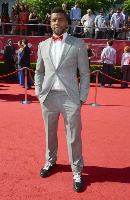 #19 Thomas DeCoud on red carpet at 2012 ESPY Awards