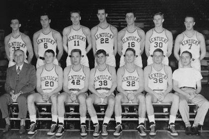 1951-52 kentucky basketball