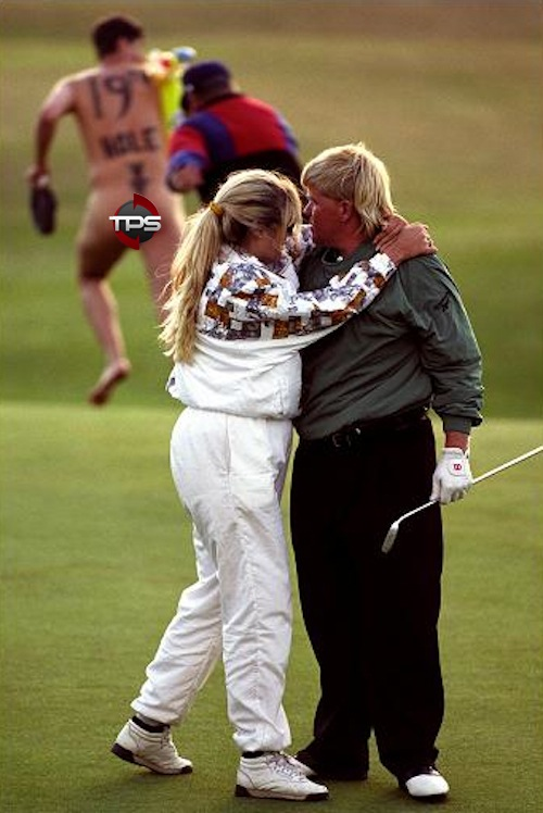 1995 british open streaker john daly