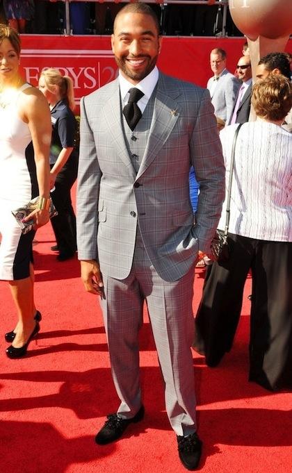#2 Matt Kemp on red carpet at 2012 ESPY Awards
