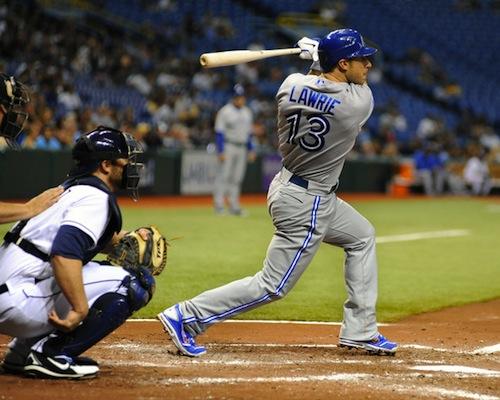 #2 brett lawrie toronto blue jays third baseman