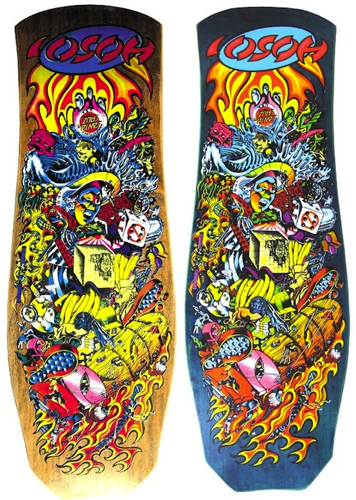 #2 jim phillips skateboard decks art graphics