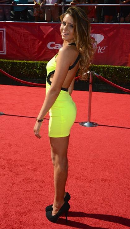 #20 Anastasia Ashley on red carpet at 2012 ESPY Awards