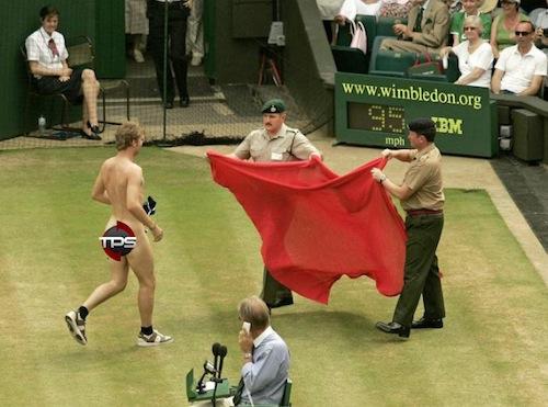 2006 wimbledon streaker sharapova match