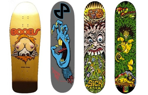 #22 jimbo philips skateboard art graphics