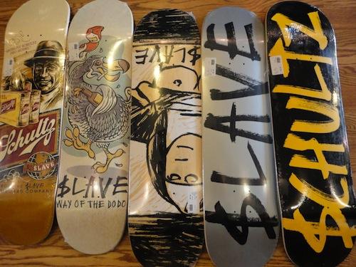 #23 schultz decks skateboard art graphics