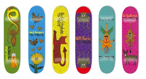 #26 ed templeton skateboard decks art graphics 2