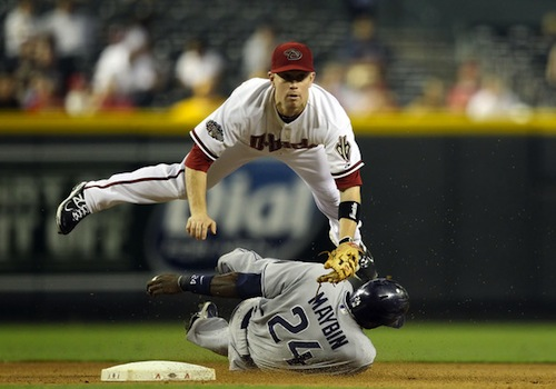 #3 aaron hill arizona diamondbacks second baseman