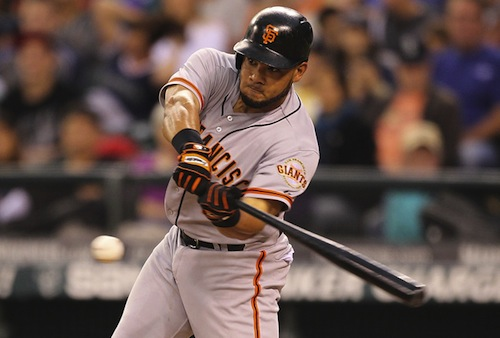 #7 melky cabrera san fancisco giants outfielder