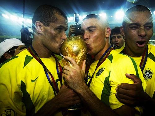 Brazil-World-Cup 2002 ronaldo rivaldo
