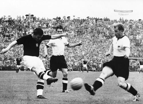 Hungary 1954 World Cup Final Ferenc Puskas