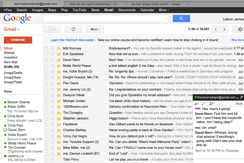 how to send fake email gmail