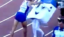 French Track Star Bullies 14-Year-Old Girl Wearing Mascot Costume (Video)