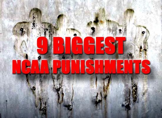 NCAA punishments