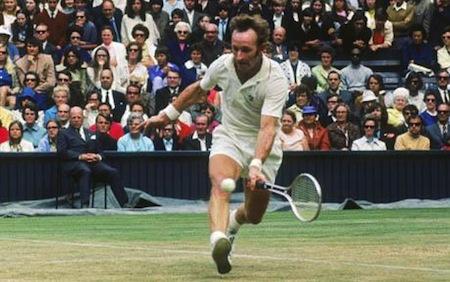 Rod Laver At Wimbledon