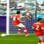 admir mehmedi of switzerland misses wide open net