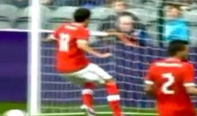 Olympic Soccer Fail: Swiss' Admir Mehmedi Misses Open Net From Two Feet Away (Video)