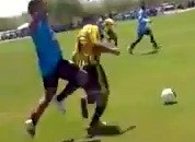 Brawl And Knockout During Amateur Soccer Game (Video)