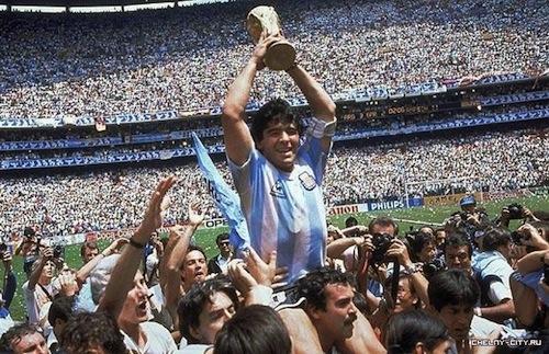 argentina maradona world cup 1986