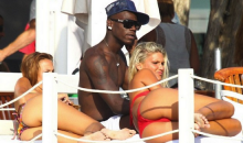 Mario Balotelli Shows Off His Awesome Purple Underwear While Vacationing In Ibiza (Pics)