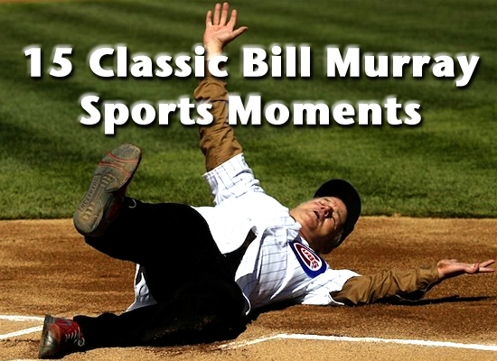bill murray sports moments