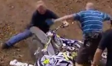 Clinton Moore Takes Nasty Moto X Spill, Then Gets Attacked By His Bike (Video)