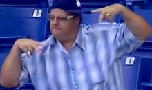This Fan Danced Like Nobody Was Watching…Because It Was the Trop, and Hardly Anyone Was (Video)