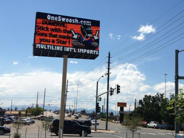 dumervil denver billboard stick with the guns