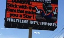 Denver Company Puts Up Billboard Making Fun Of Broncos' Elvis Dumervil For Getting Arrested (Pic)