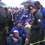 fan hit by rory mcilroy drive at british open