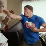 georges st-pierre fighting ninjas in google commercial