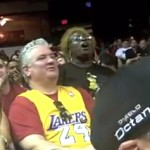 gospel singing kobe bryant fan sharon smith