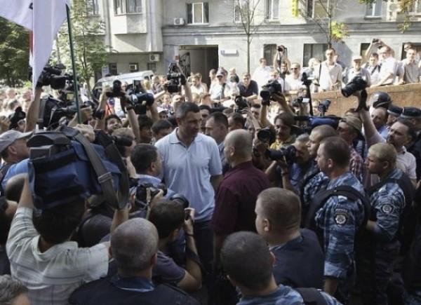 kiev protest 4 vitalki klitschko