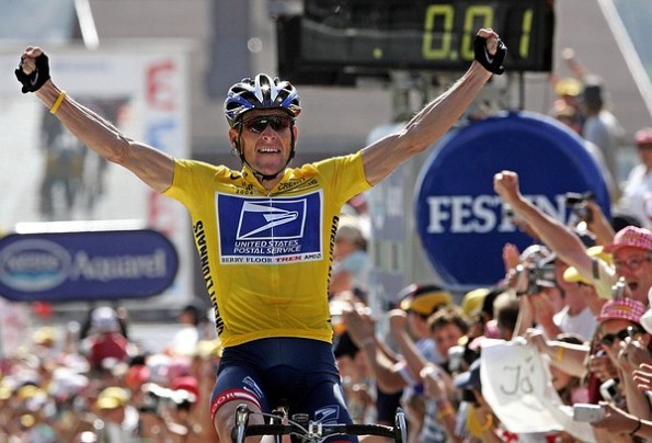 LAnce Armstrong 2004 Tour de France win