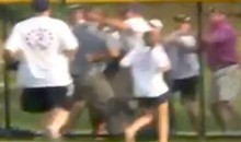 Two Classy Dads Set Great Example By Brawling, Getting Arrested At Little League Game (Video)