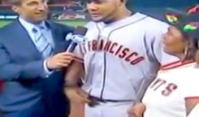 Check Out Melky Cabrera's Awkward Interview After Winning The All-Star MVP Award (Video)
