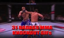 31 Badass MMA Knockout GIFs