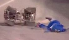 Watch This Mascot Get Thrown From An ATV And Hit The Ground Face First (Video)