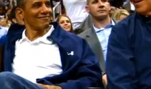 LeBron James' Dunk And President Obama's Ensuing Expression Are Even Cooler In Super Slow-Motion (Video)