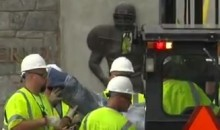 Joe Paterno Statue Removed, Penn State Fined $60 Million (Video)