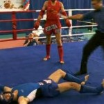 russian muay thai knockout