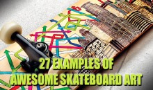 27 Examples of Awesome Skateboard Art