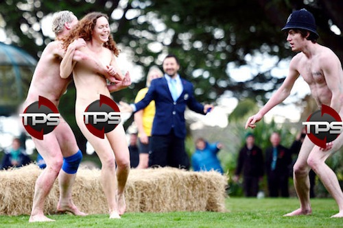 streaker at nude rugby game (2011)