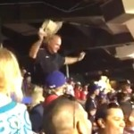 texas rangers fan dancing