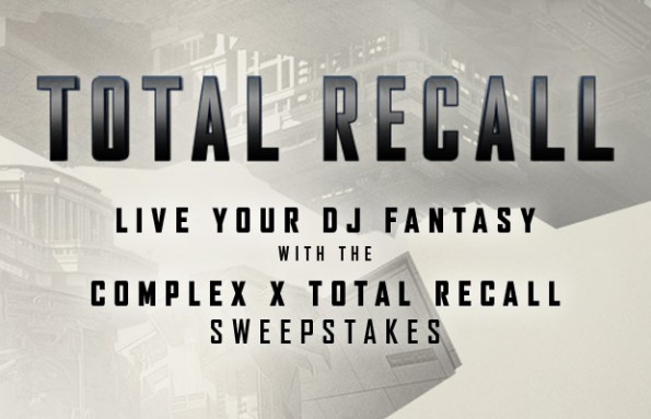 total recall complex sweepstakes