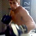 uriah faber sparring
