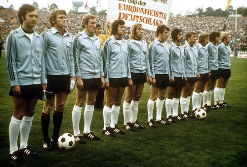 west germany 1972 euro squad