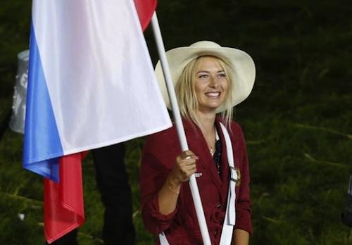 1 Maria Sharapova olympics