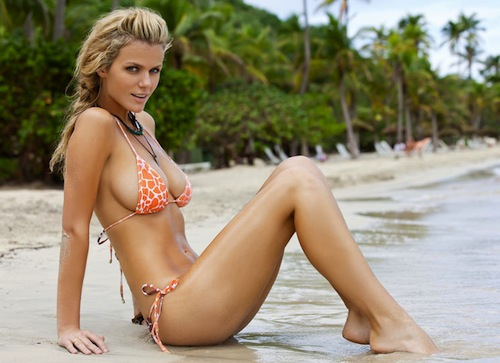 1 brooklyn decker (andy roddick girlfriend) U.S. Open WAGs