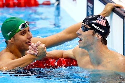 michael phelps chad de clos olympics